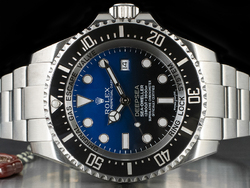 Rolex Sea-Dweller DEEPSEA 116660 Quadrante D-Blue